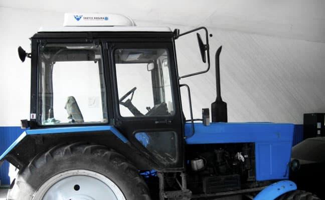 Встановлення кондиціонерів на трактори та комбайни